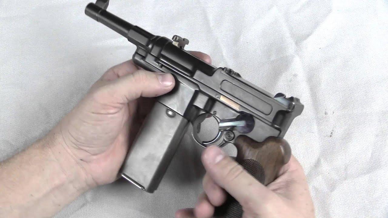 Mauser 06/08 Semiauto Pistol