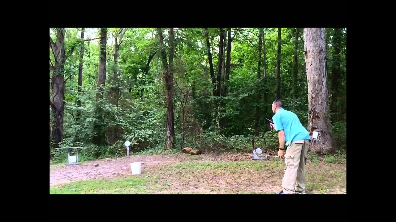 The GunFather: The GunFather's Golf Trick Shot