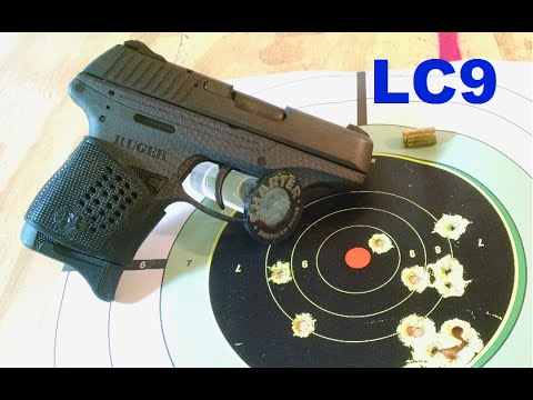 Ruger LC9 Bench & Shooting Review