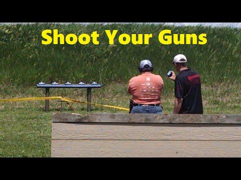 Shoot your guns