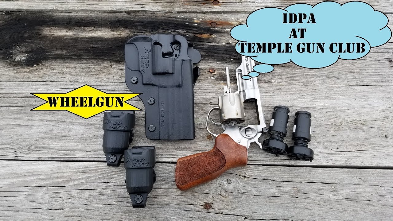 Ruger GP100 Match Champion IDPA @ TGC Jan 2019