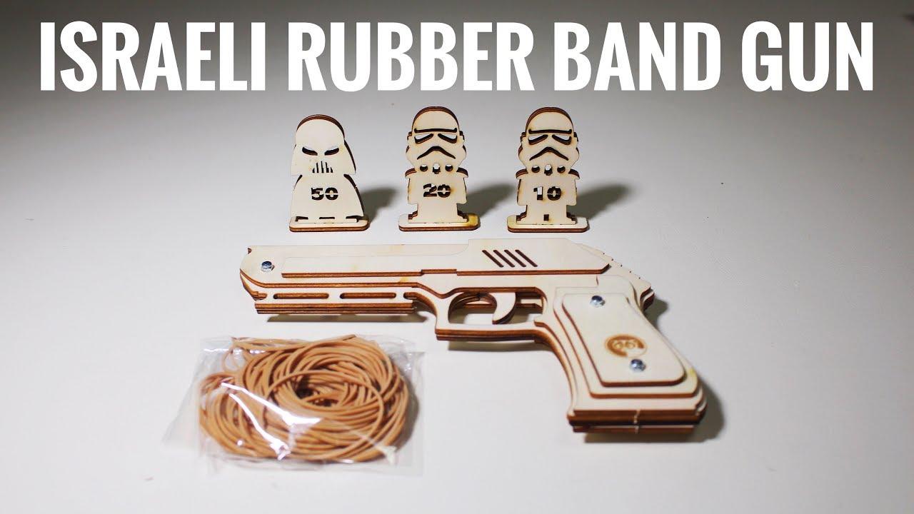 Israeli Rubber Band Gun (5 Round Capacity!)