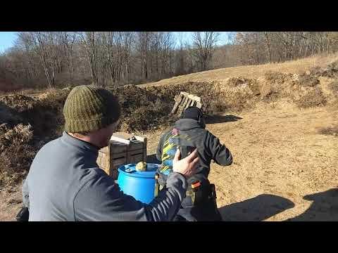 Pistol Shotgun Practice