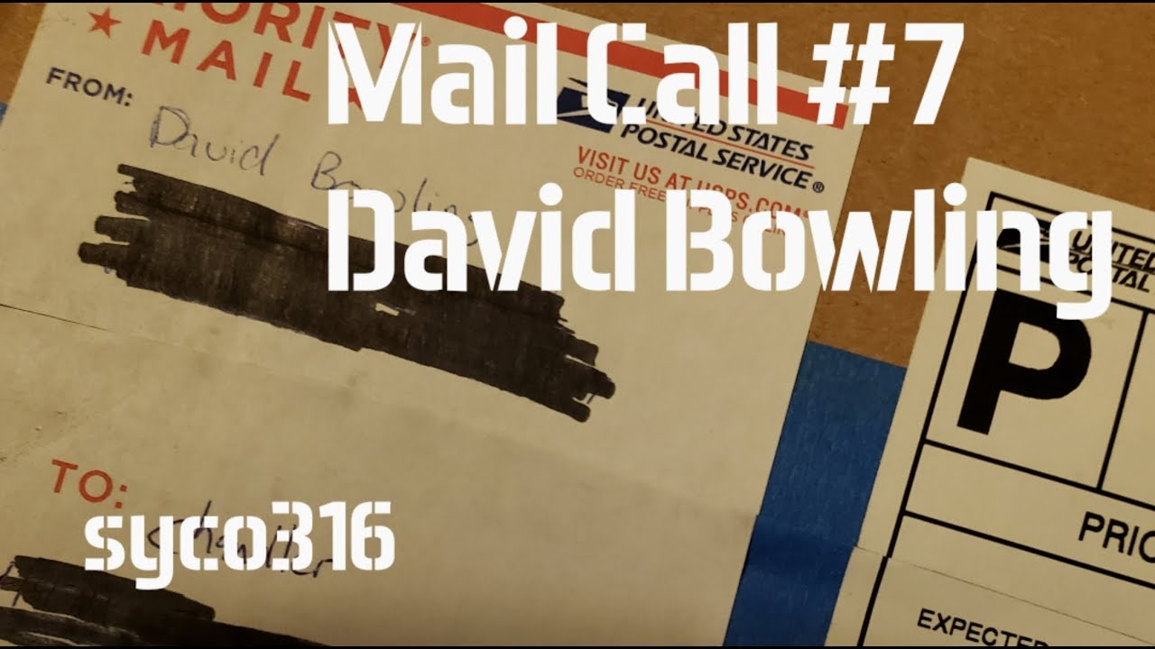Mail Call #7: David Bowling