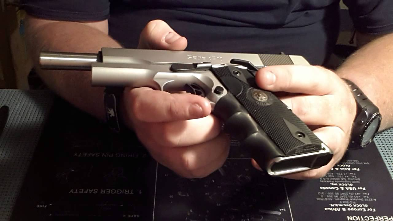 Review of the Para Expert 1911 stainless steel.