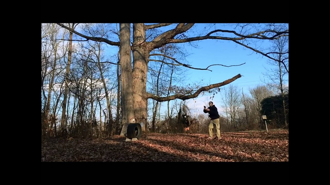 The GunFather Trick Shot Tuesday Let it Snow Flying Quick Draw Trick Shot