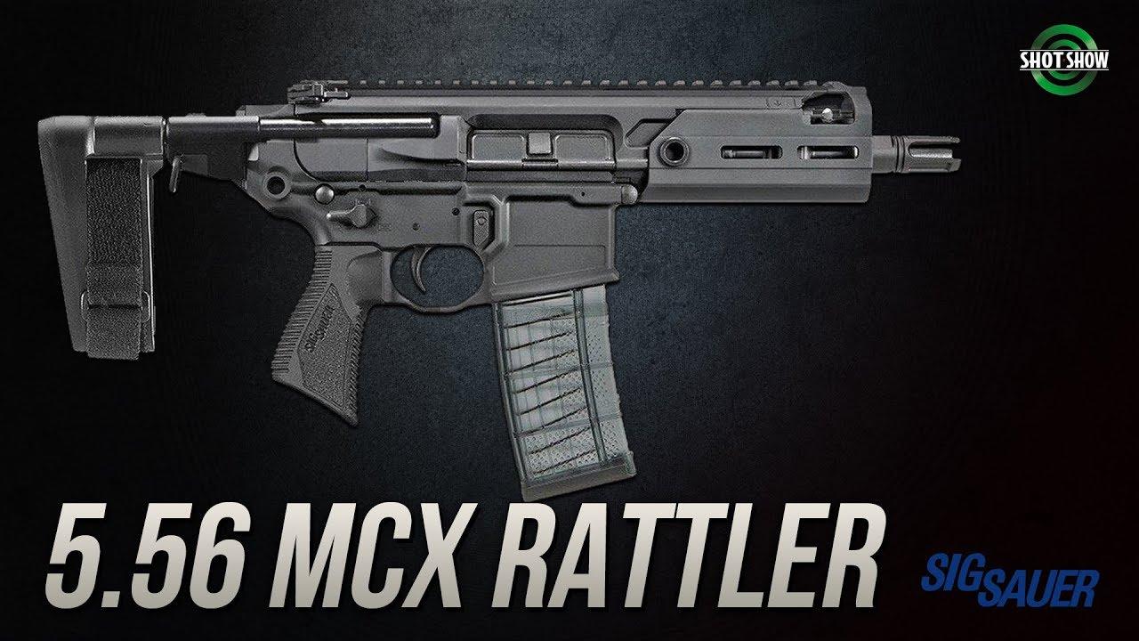Sig Sauer 5.56 MCX Rattler - SHOT Show 2019