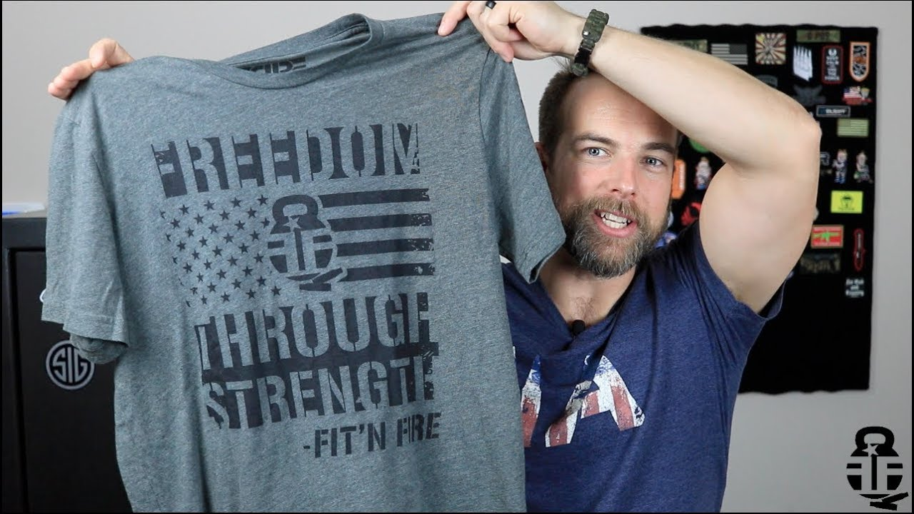 Fit'n Fire Shirts from Revolutionary Patriot