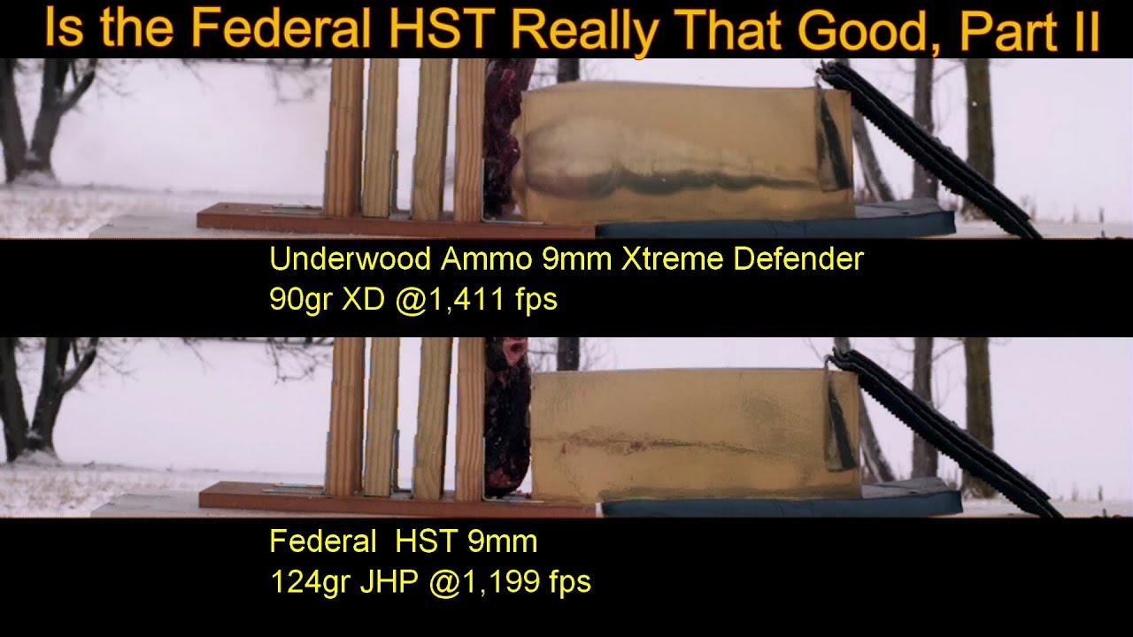 Is The Federal HST Really That Good Part II Underwood XD