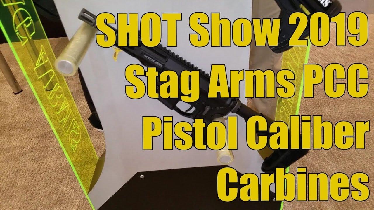 SHOT Show 2019 Stag Arms Pistol Caliber Carbines PCC