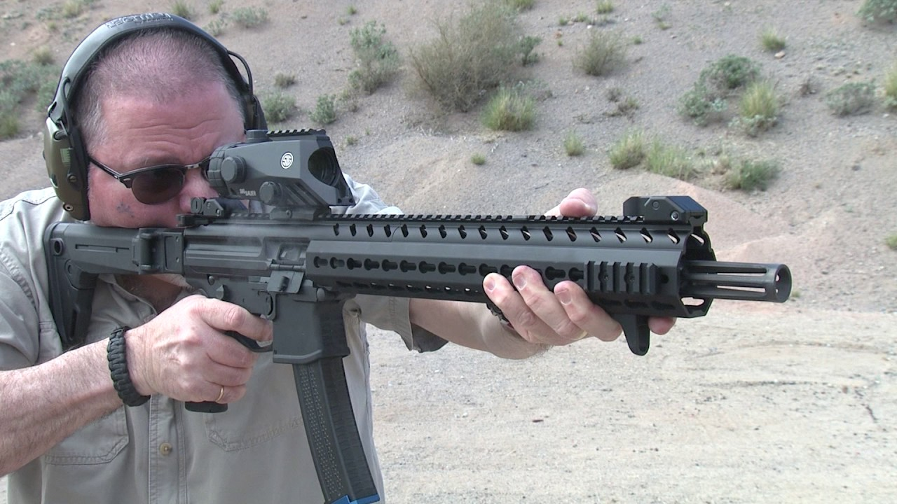 Sig Sauer MPX Carbime in Slow-Mo #136