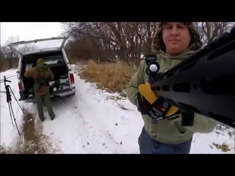 Cold Weather Target shoot