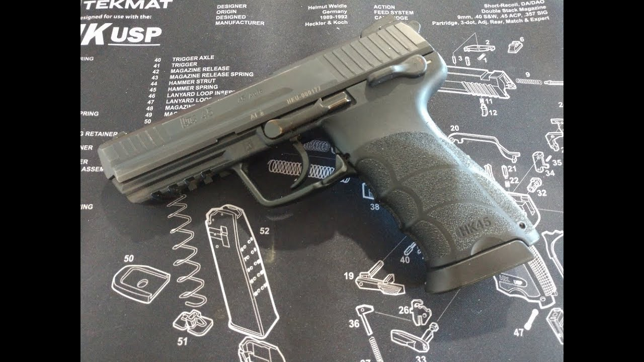 Heckler & Koch HK45 January IDPA Midland, Tx