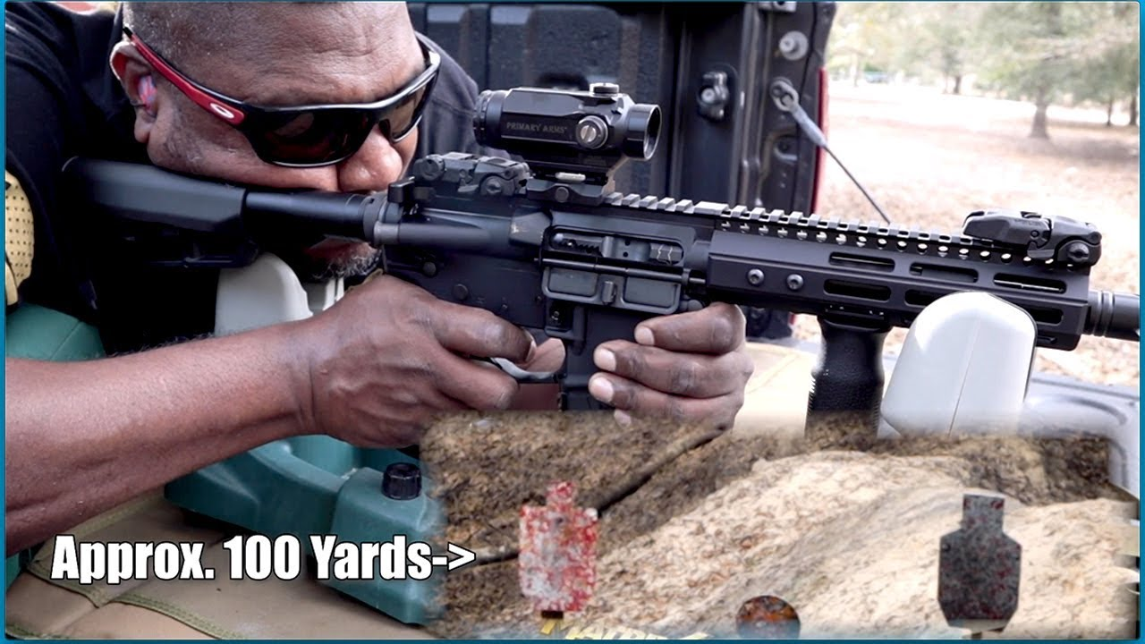 100 Yards Not A Short Barrel Rifle // Reformation Non-NFA SBS // Franklin Armory