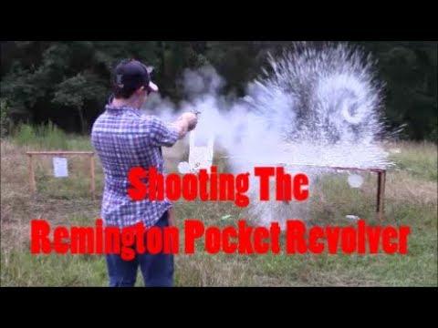 Shooting Pietta's 1863 .31 Pocket Revolver