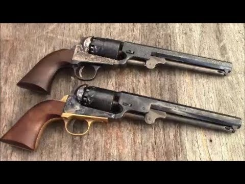 Shooting The Pietta 1851 Navy .36 Black Powder Revolver