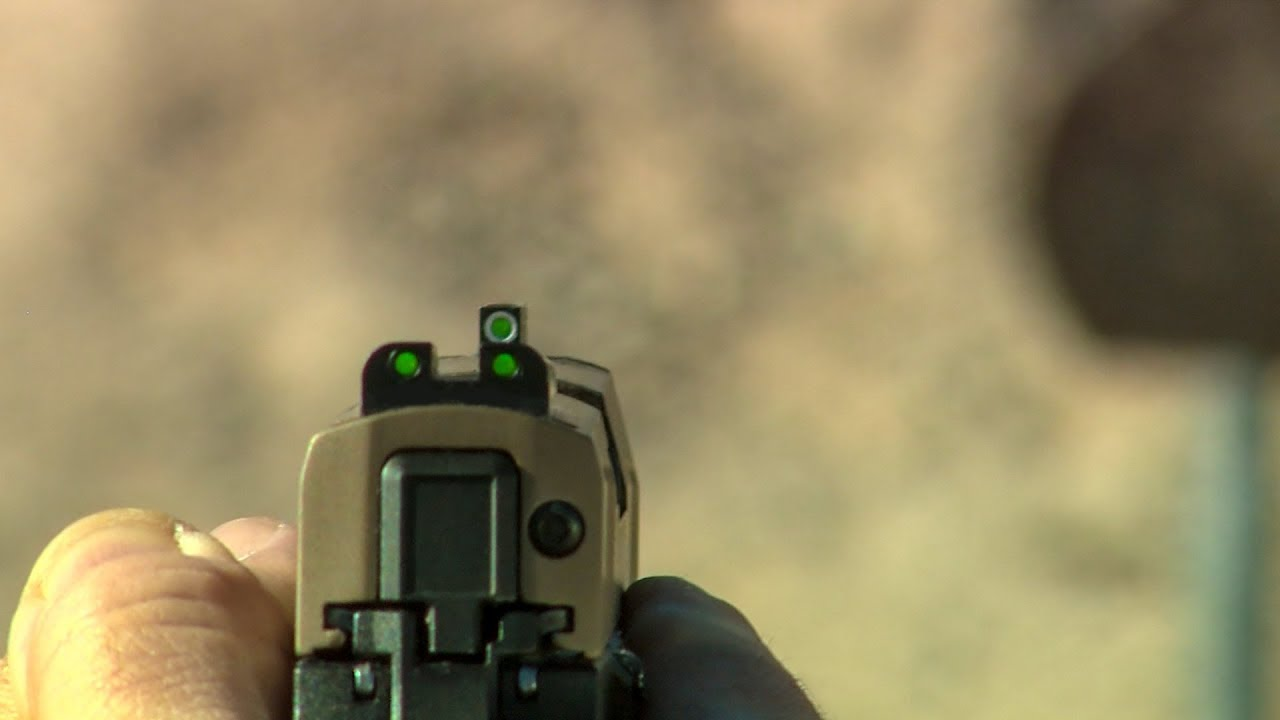 The Sig P320 Compact EDC with TRUGLO TFX sights #312