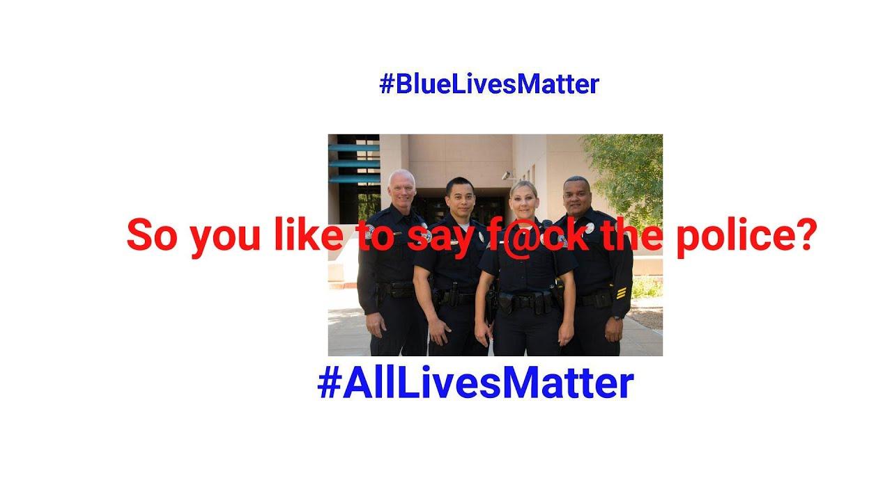 So you dislike law enforcement?