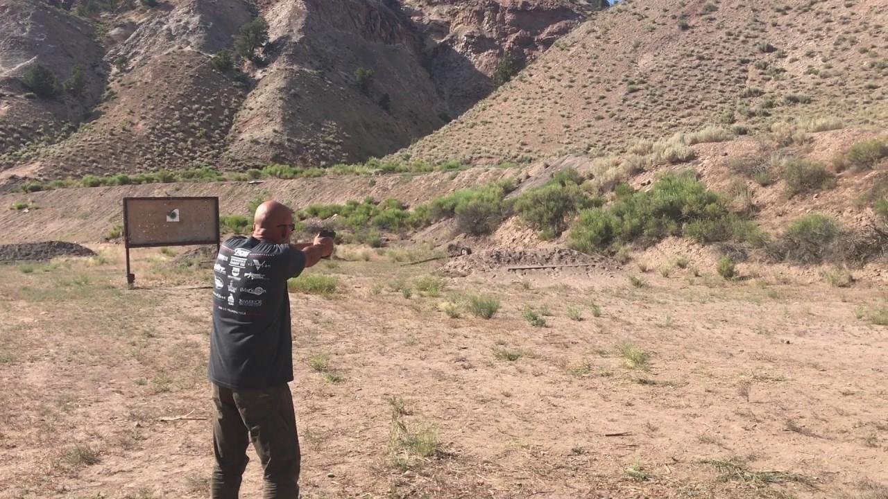 Bullet Skip: Over the berm, off the range.