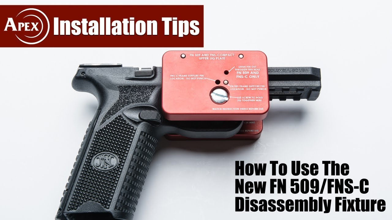 How To Use The FN Disassembly Fixture