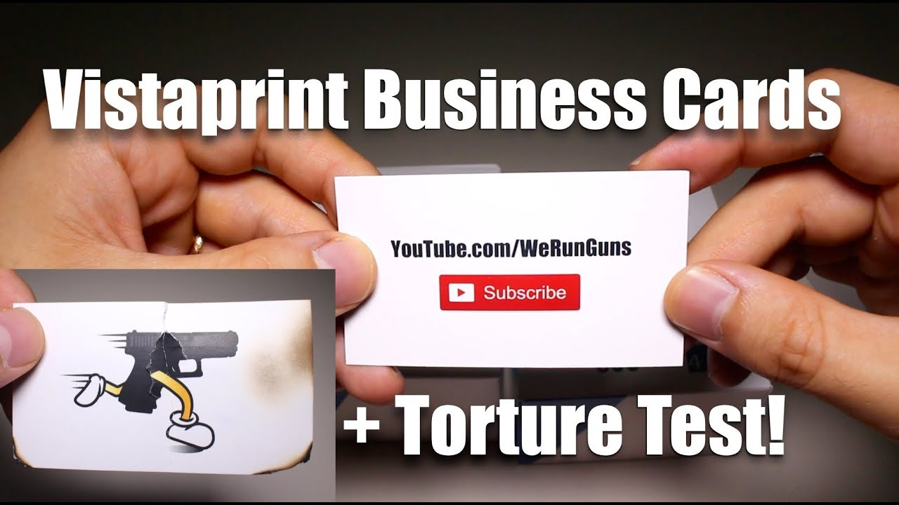 Vistaprint Signature Matte Business Cards Unboxing, Review, Torture Test