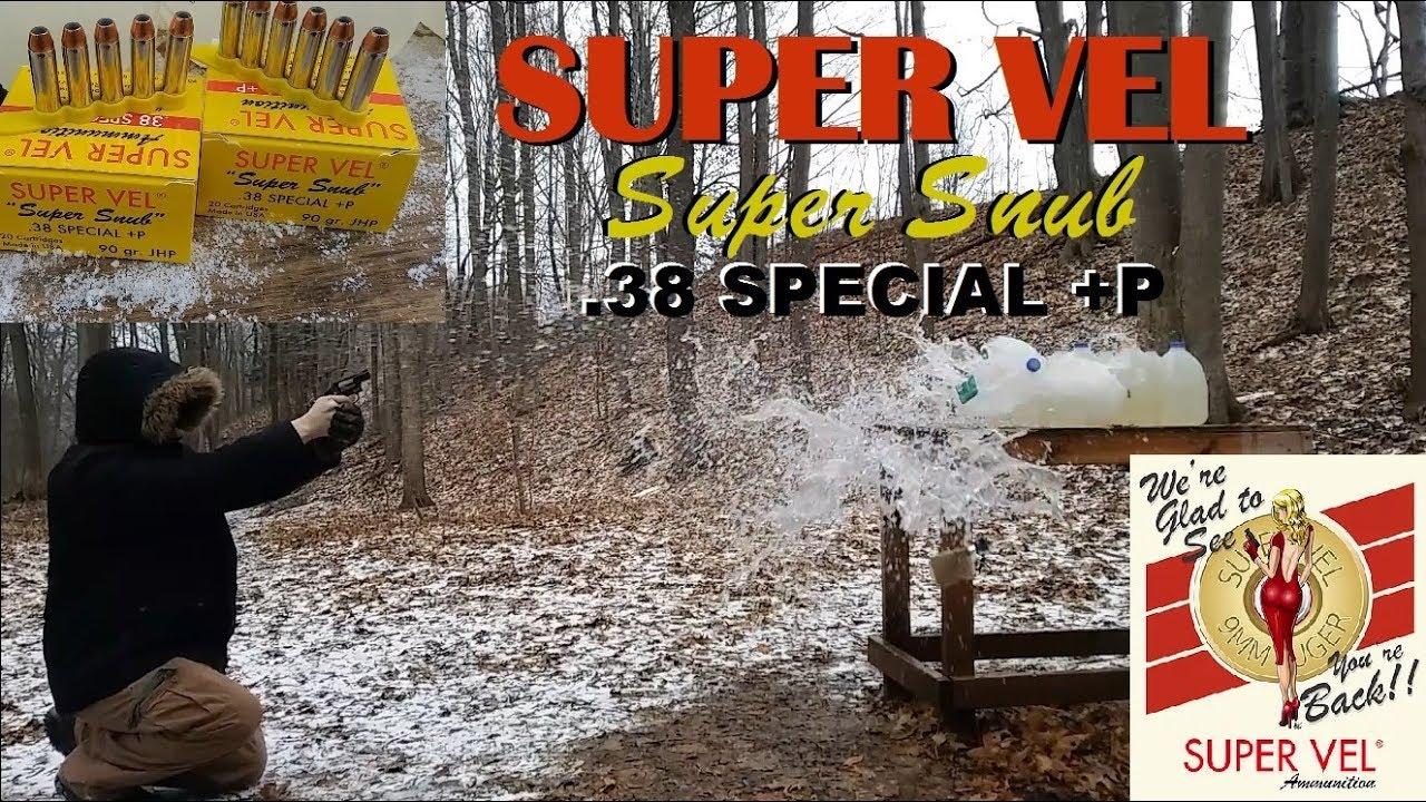Super Vel .38 Special+P
