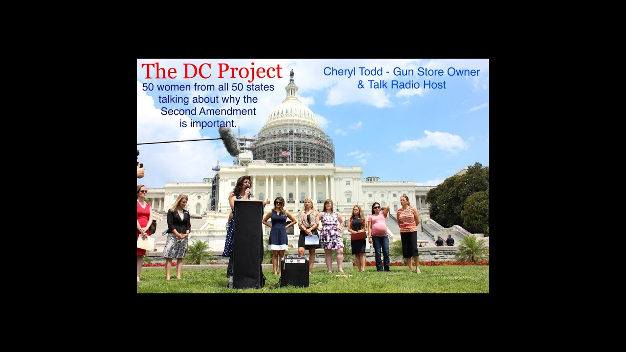 The DC Project Rally July 2016 - Cheryl Todd