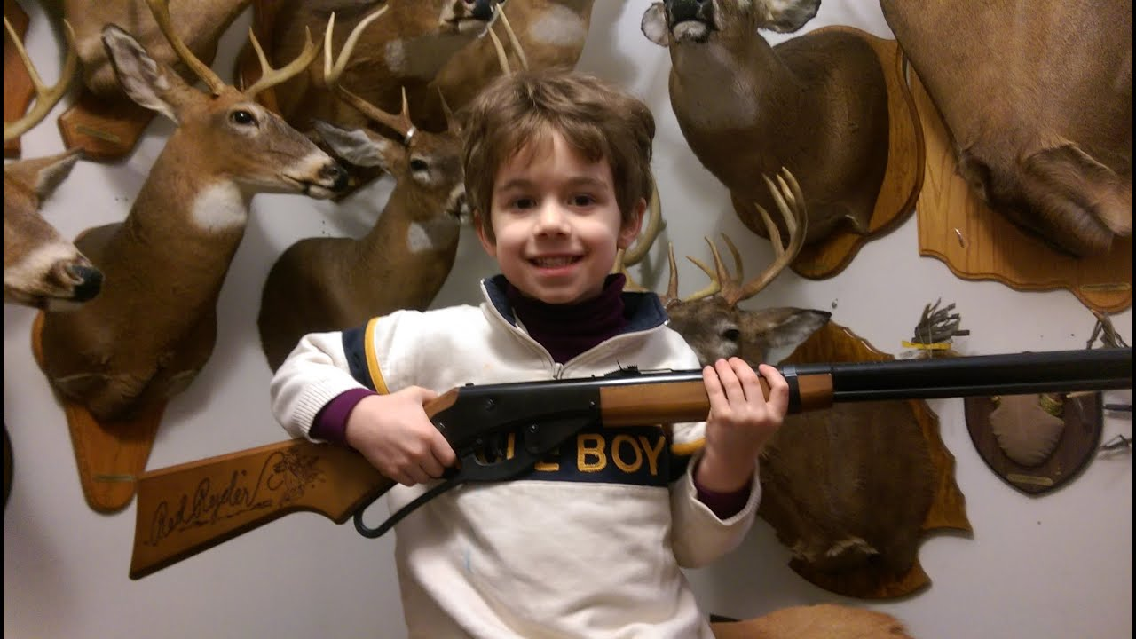 Jacob's First B B Gun by Nito Mortera with Archersparadox2020 Outdoors Adventures LLC