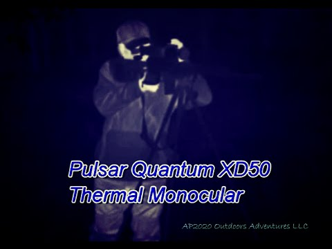 Pulsar Apex XD75 Quantum XD50 Thermal  Monocular Leadfoot LE 3 Can Scope by Nito Mortera