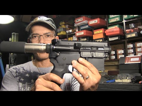 300 Blackout Pistol Put Together, Part 3, JP Enterprises Silent Captured Spring & PC Armament