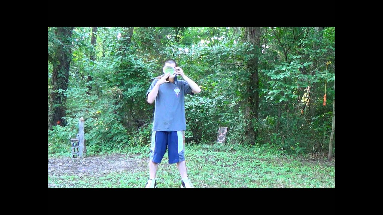 The GunFather: Trick Shot Tuesday- **Annie Oakley/Bob Munden Style** Opening a Coke**