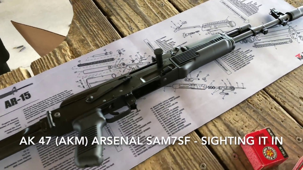 Arsenal SAM7SF AK 47 (First Range Session)