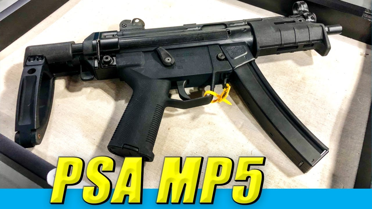 PSA-5 Cheap H&K MP5 Prototype // Quick Look // SHOT Show 2019