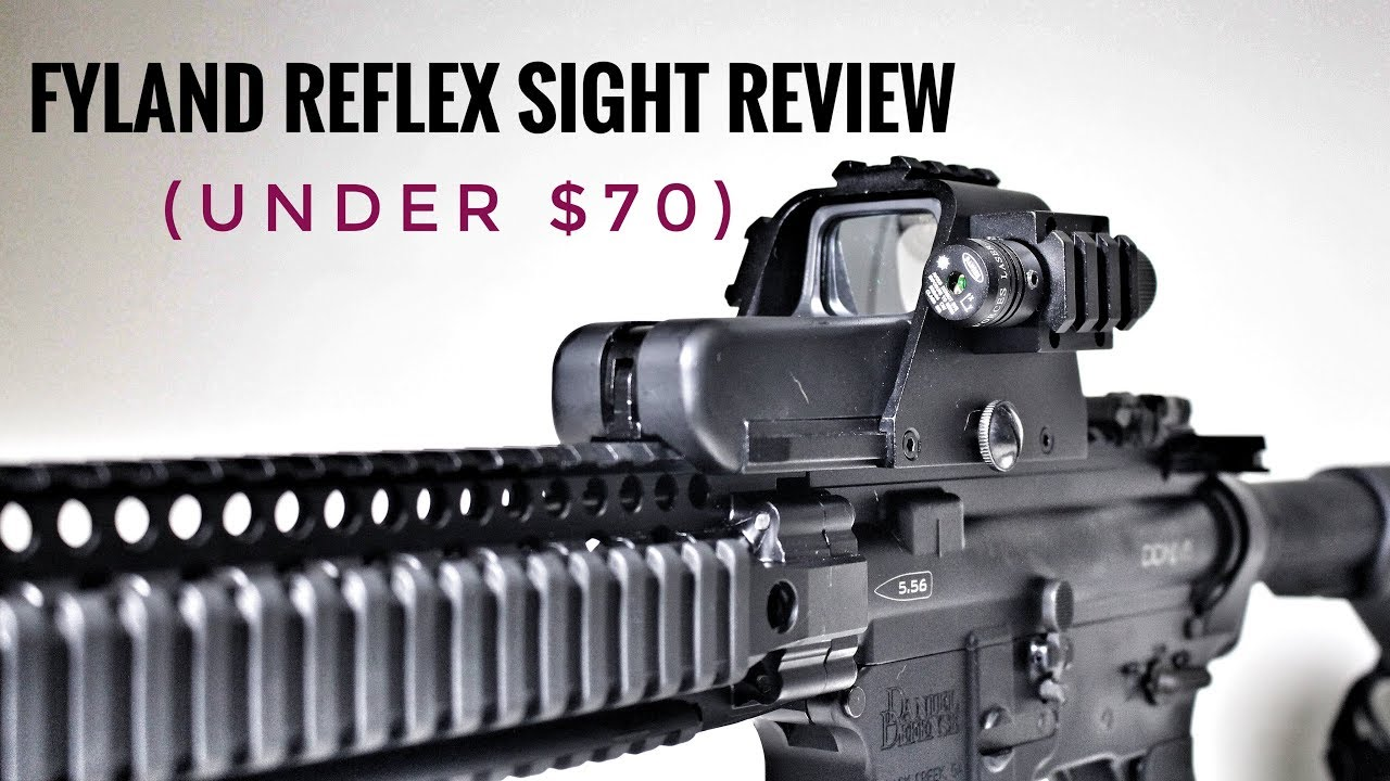 Budget Red Dot Sight (Plus Laser) by Fyland
