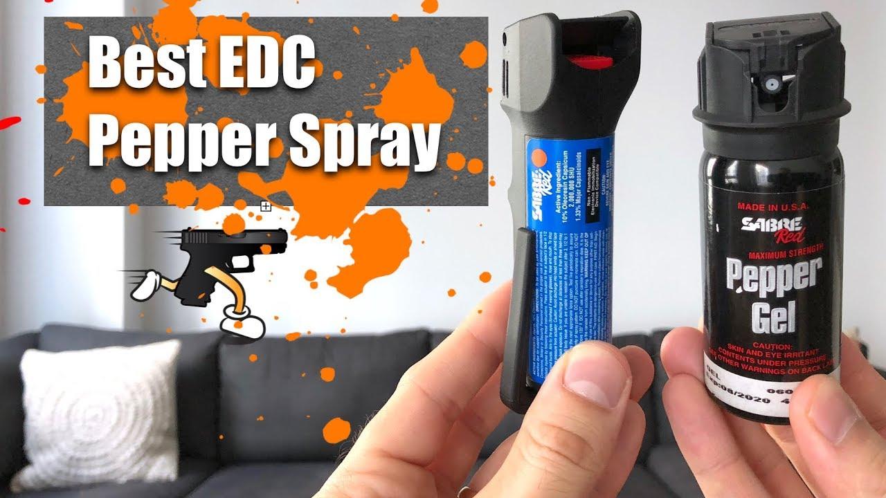 Best EDC Pepper Spray: Sabre MK 6 vs Pepper Gel