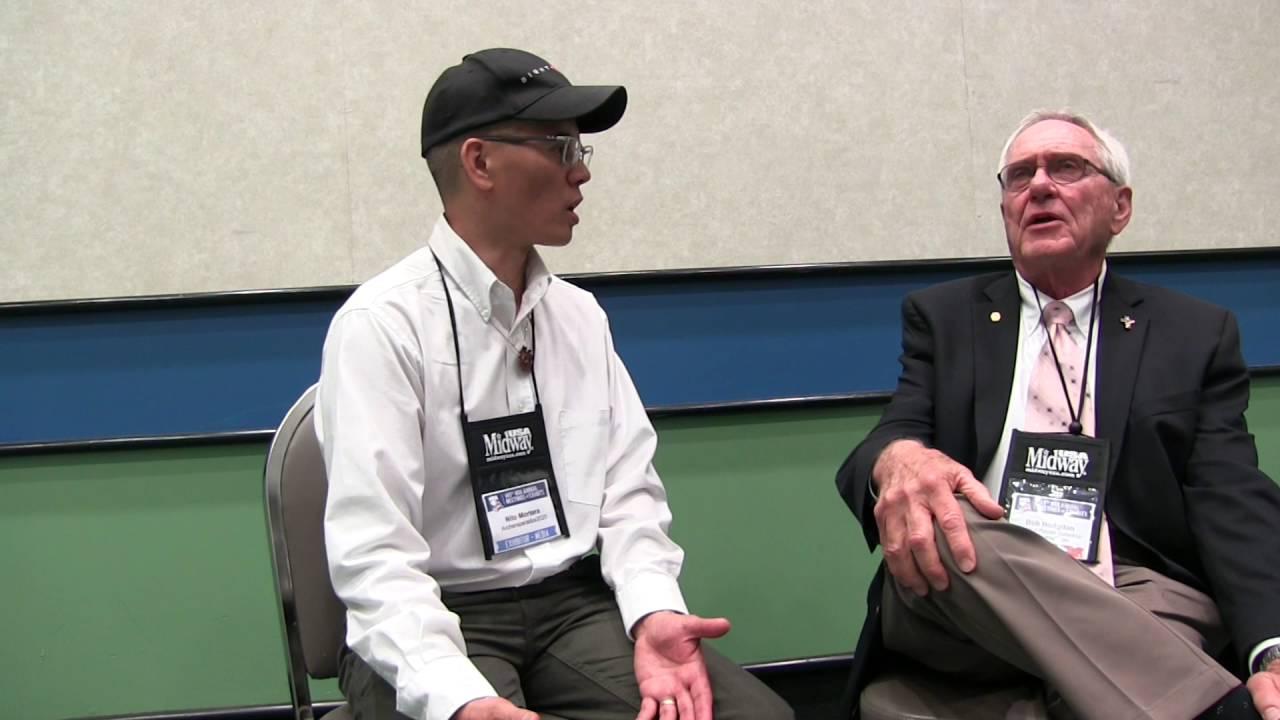 Bob Hodgdon, Jr with Hodgdon Powder 2016 NRA Annual Meetings and Exhibits by Nito Mortera