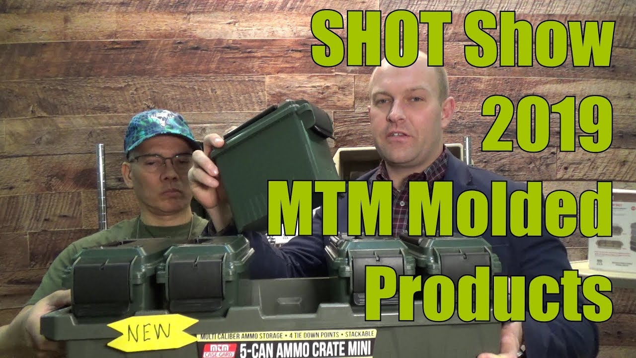 SHOT Show 2019 MTM Molded Products
