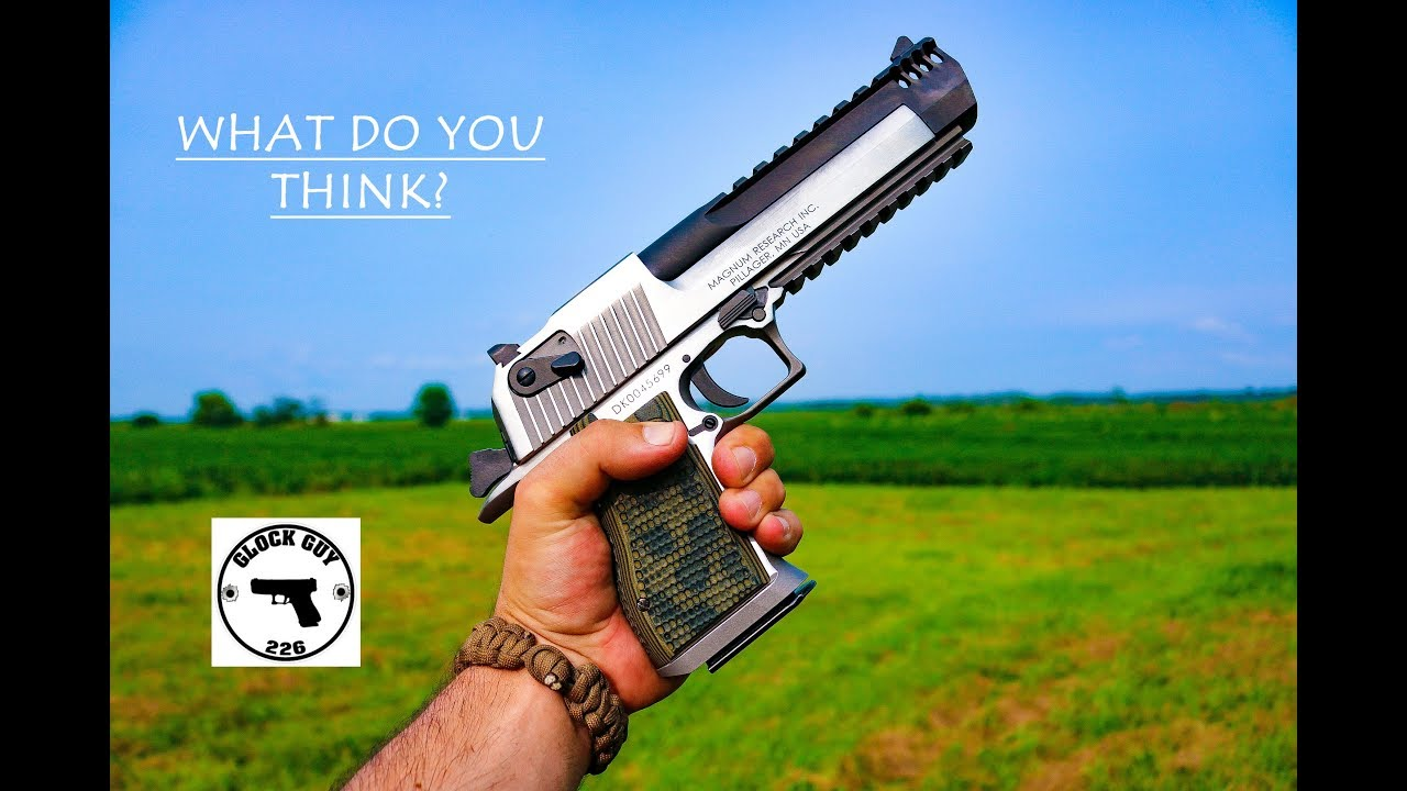 DESERT EAGLE 50 CAL : ISSUES AT THE RANGE?