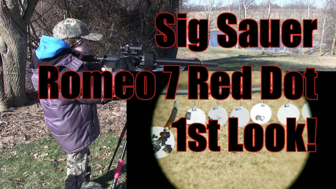 Sig Sauer Electro Optics Romeo 7 Red Dot 1st Look Stag Arms Stag 9 PCC