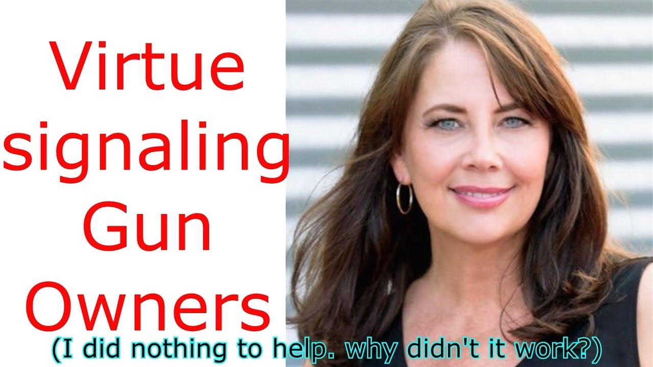 Virtue signaling gun owners