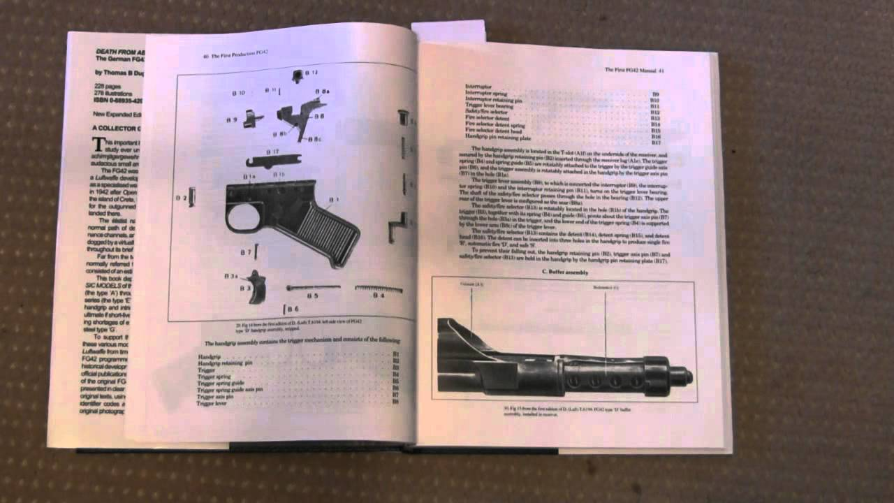 Book Review: Death From Above - The German FG42 Paratroop Rifle by Dugelby and Stevens