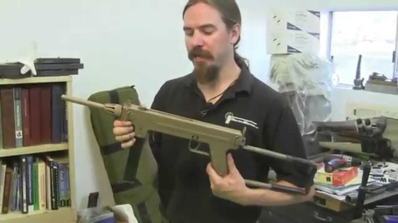 Madsen M1950 SMG - Disassembly and Shooting