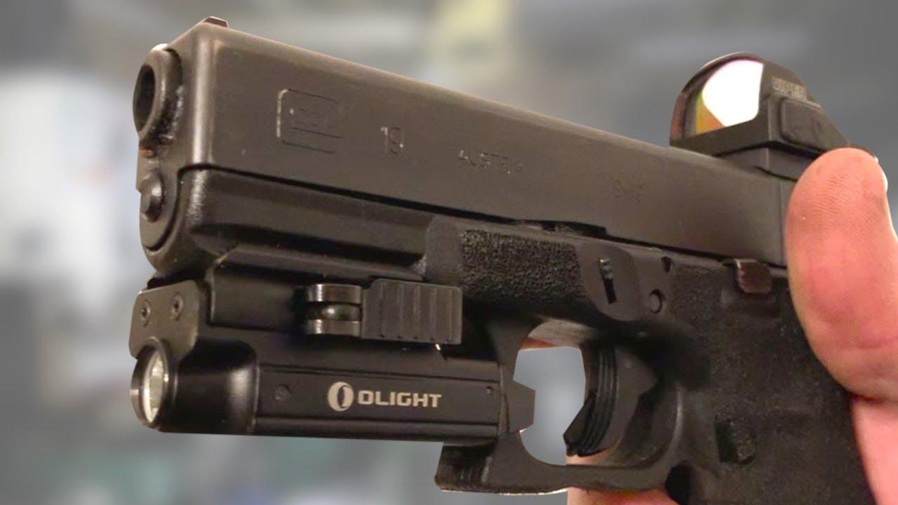 Olight Weapon Light Performance Test and Comparison vs Surefire & Streamlight