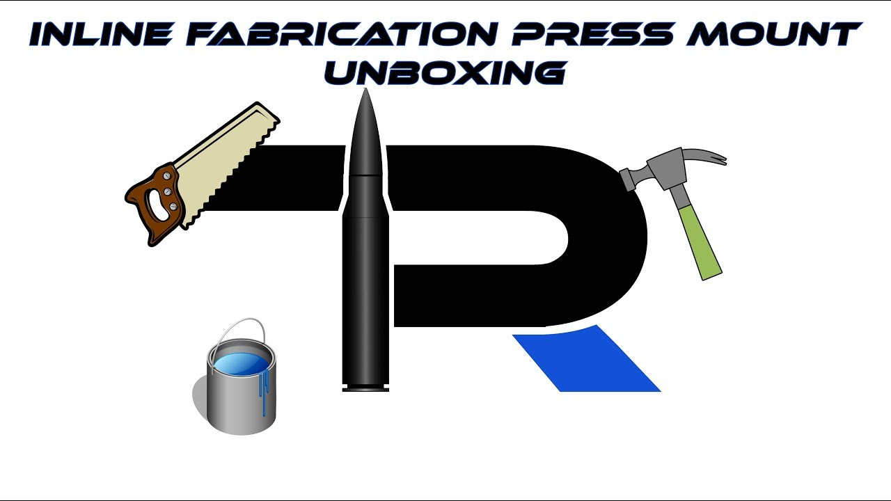 Inline Fabrication reloading press Ultramount Junior and flush mount unboxing