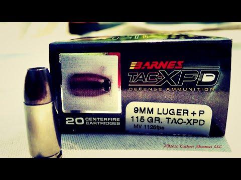 Barnes Bullets TAC XPD Personal 9mm 380ACP 1st Look