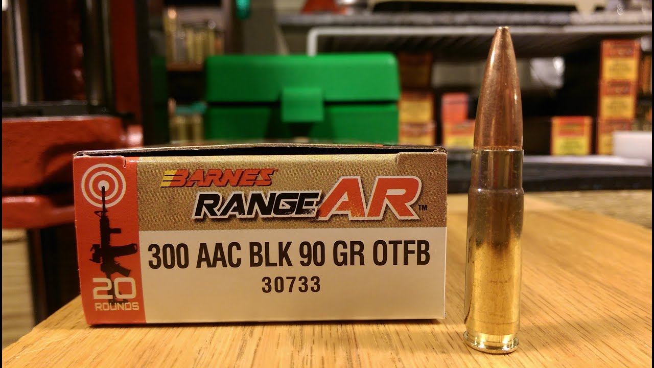 300 AAC Blackout Barnes Bullets RangeAR Ammunition Pulsar Thermal Scope
