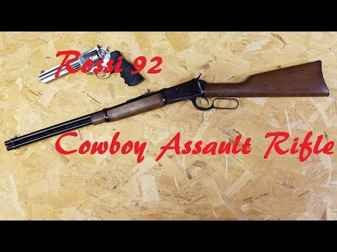 Rossi 92 .357 Mag (My Cowboy assault rifle Gun Review)