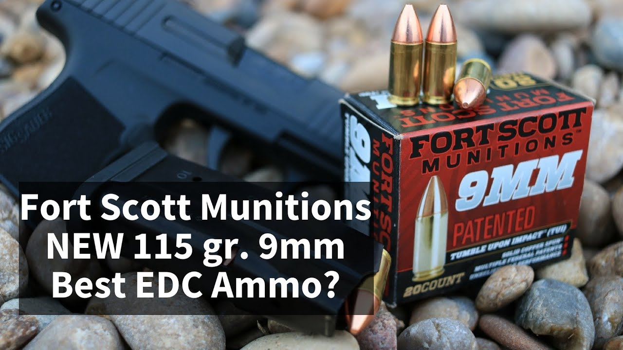 Fort Scott Munitions NEW 115gr. 9mm - Best EDC Ammo?