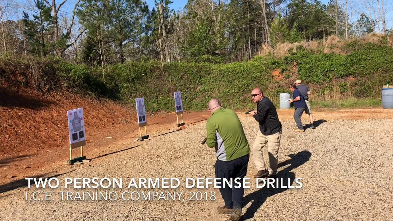 Multiple Person Armed Defense, Live Fire
