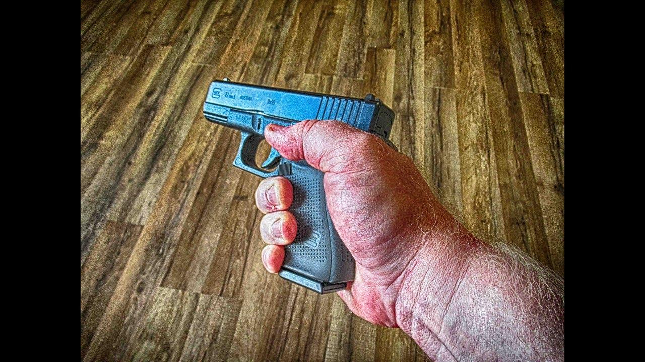 Proper handgun grip